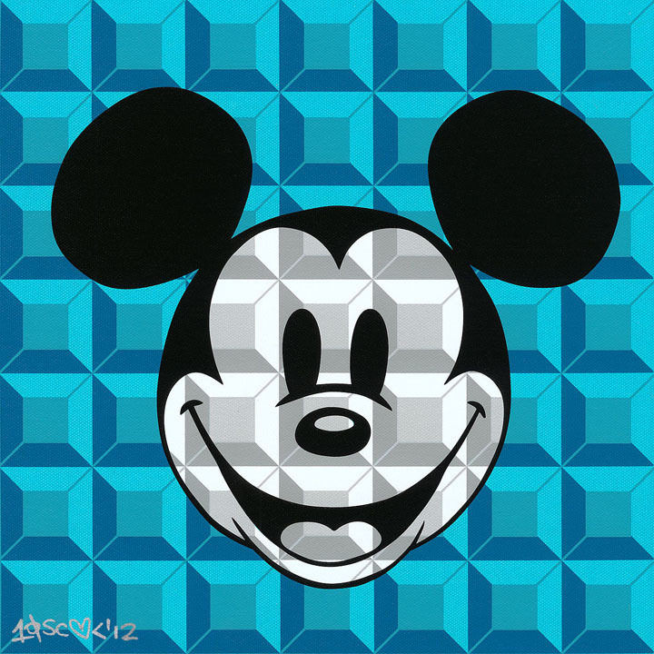 Artist Mickey Mouse Art portrait