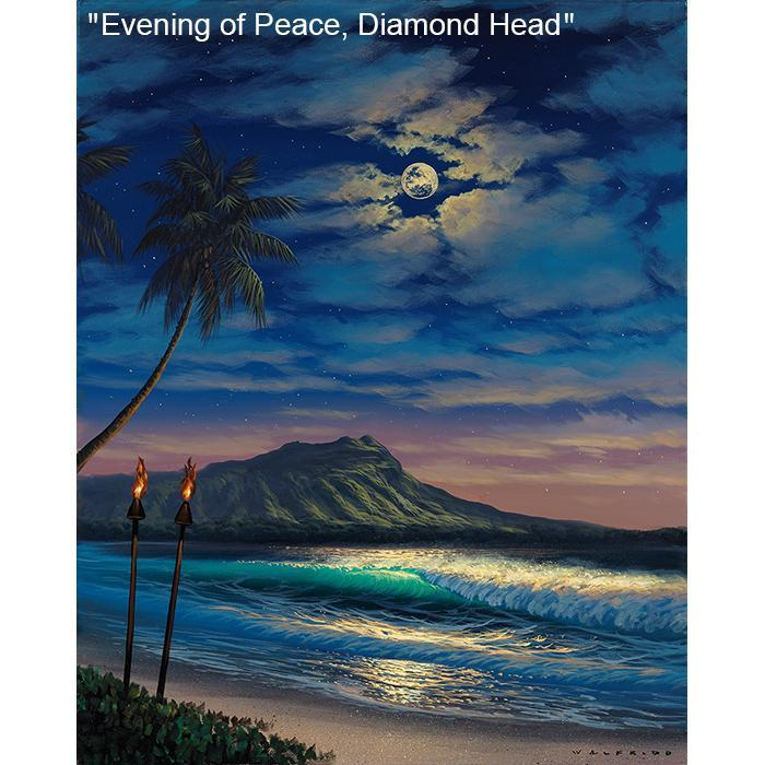 Walfrido Garcia Evening of Peace Diamond Head (AP)