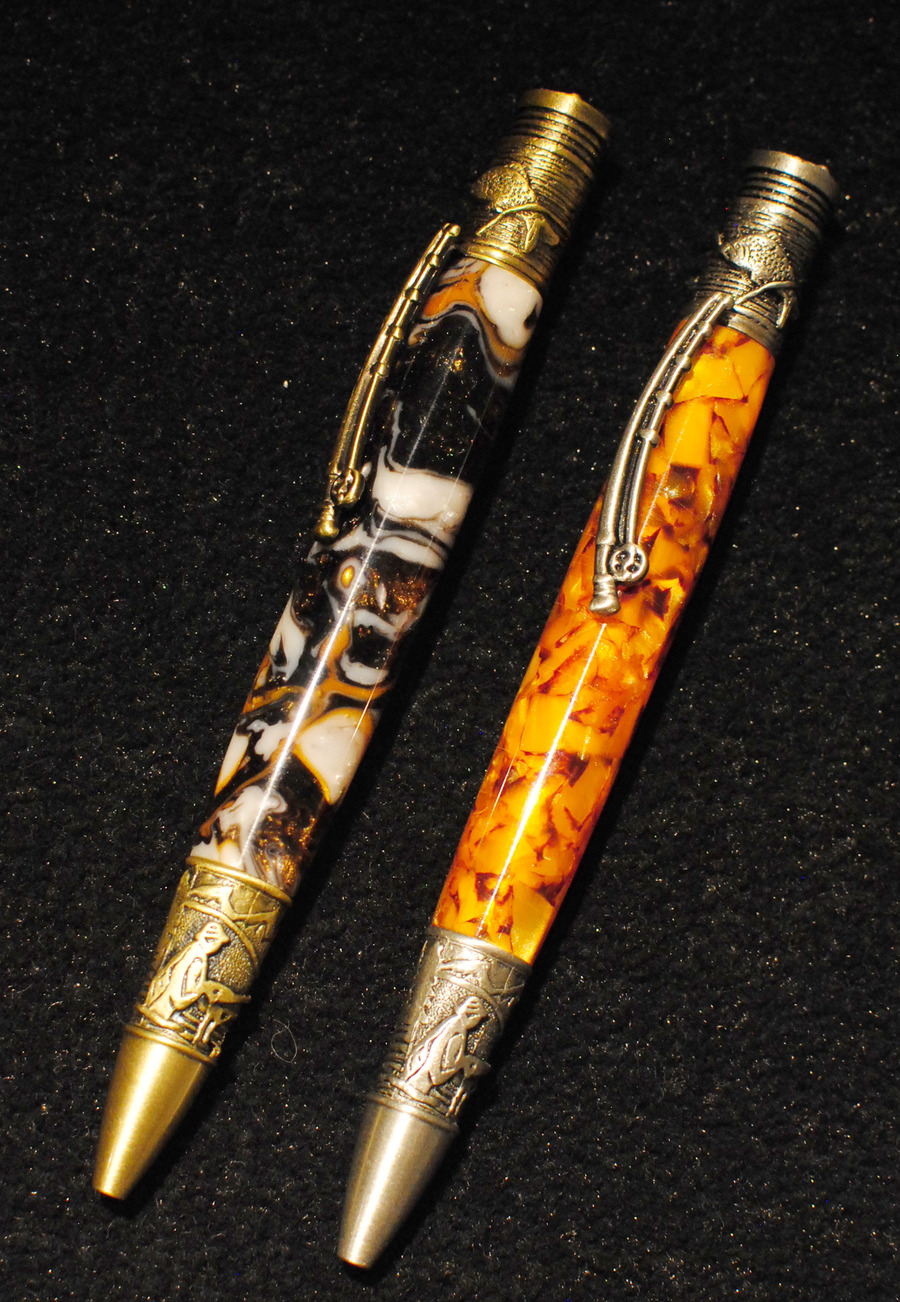 Allywood Creations Fly Fisherman Pen - Acrylic