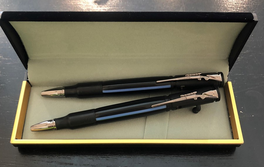 Allywood Creations Bolt Action Rifle Pen - Thin Blue Line