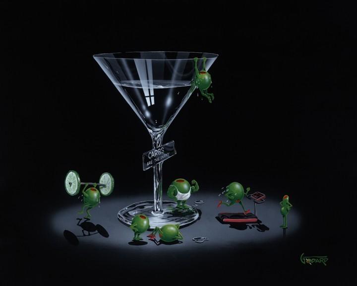 Liquid Diet by Michael Godard
