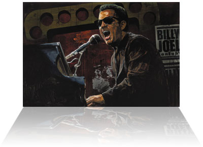 Stephen Holland Stephen Holland Limited Edition Giclee on Canvas Billy Joel