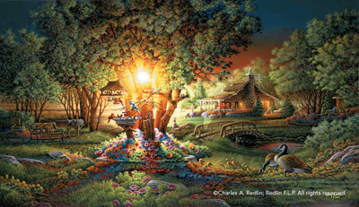 Terry Redlin Colors of Spring