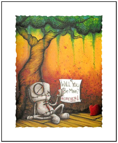 Fabio Napoleoni Fabio Napoleoni Open Edition Giclee on Paper Filled With Love (mini)