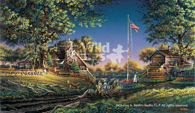 Terry Redlin Good Morning, America!