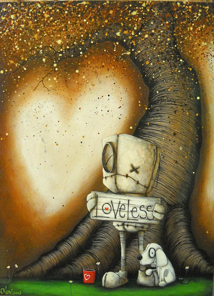 Fabio Napoleoni Fabio Napoleoni Limited Edition Giclee on Paper In Need of Affection (SN)