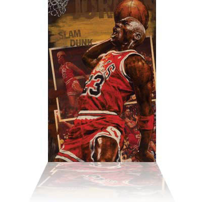 Stephen Holland Stephen Holland Limited Edition Giclee on Canvas Jordan, Slam Dunk (signed)