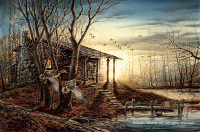 Terry Redlin Morning Retreat