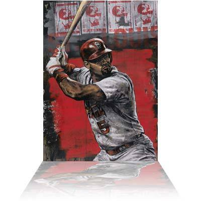 Stephen Holland Stephen Holland Limited Edition Giclee on Canvas Pujols