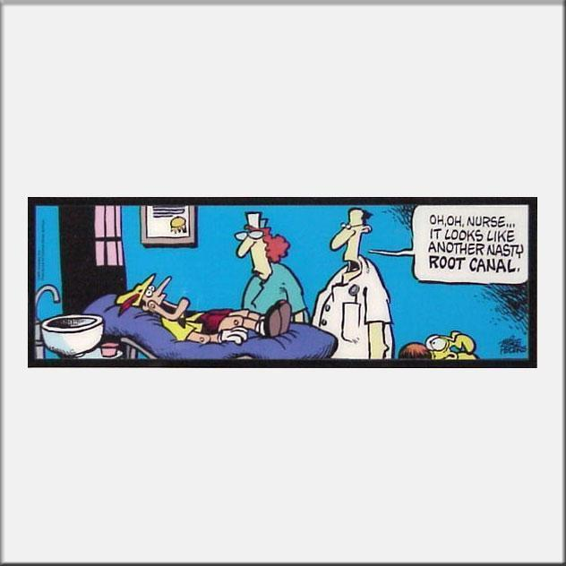 Mike Peters Mike Peters Limited Edition Tile Art Another Nasty Root Canal