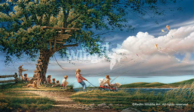 Terry Redlin Spring Fever