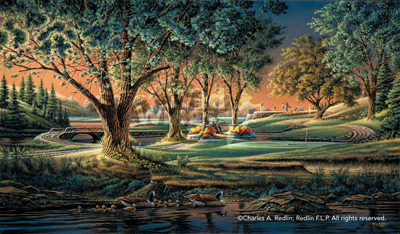 Terry Redlin Spring on the Greens