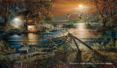 Terry Redlin The Social Hour