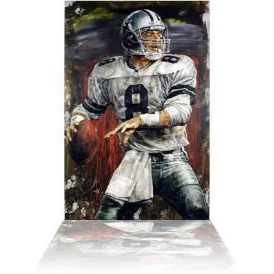 Stephen Holland Stephen Holland Limited Edition Giclee on Canvas Troy Aikman