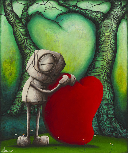 Fabio Napoleoni Fabio Napoleoni Limited Edition Giclee on Canvas Who Would I Be Without You (AP Canvas)
