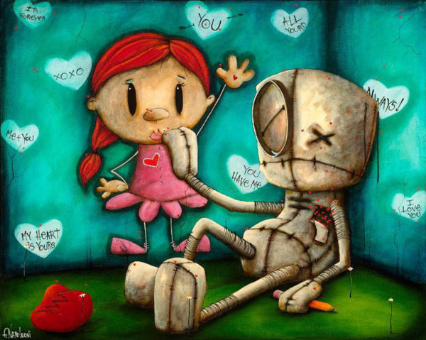 Fabio Napoleoni Fabio Napoleoni Limited Edition Giclee on Canvas You're What I Needed (SN) Canvas