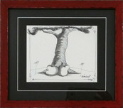 Fabio Napoleoni Artist Afternoon Daydreaming (Original) - Framed