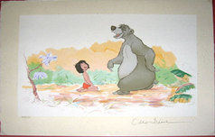 The Jungle Book Art Walt Disney Animation Artwork Mowgli & Baloo