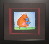 Matt Rinard Whimsical Art Bear Hug