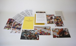 Alex Ross Superhero Artwork Beatles Lithograph Set of 7