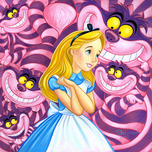 Alice in Wonderland Art Rodel Gonzalez