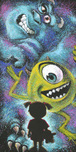 Monsters Inc Art Walt Disney Animation Artwork Closet Full of Monsters