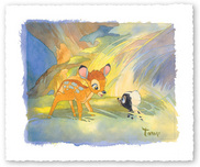 Bambi Film Art Walt Disney Animation Artwork Colors of the Forest