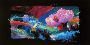 Finding Nemo Art Walt Disney Animation Artwork Come Out and Play (Premier)