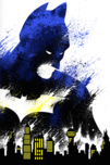 Batman Art Superhero Artwork The Dark Knight (S)
