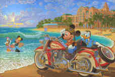 Daisy Duck Art Walt Disney Animation Artwork Where the Road Meets the Sea (Premiere)