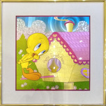 Tweety Bird Art Warner Brothers Animation Artwork Magic Effects - Holographic