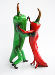 Thad Markham Sculpture Hot Salsa