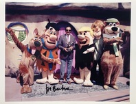 Flintstones Art Hanna-Barbera Artwork Joe Barbera Signed Photograph
