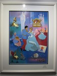Cinderella Art Walt Disney Animation Artwork Cinderella's Golden Anniversary