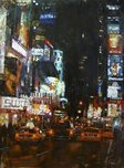 Mark Lague Street Scenes Manhattan Traffic