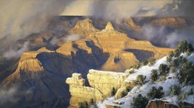 Robert Peters Western Art March, Yavapai Point (AP)