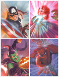 Avengers Superhero Artwork Marvelocity: Heroes and Foes