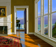 Edward Gordon Still Life Music Room II (Framed)