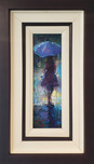 Michael Flohr Street Scenes Ocean of Love - Original (Framed)