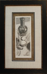 Thomas Arvid Artist On My Way (Original Sketch) Framed