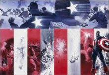 Alex Ross Superhero Artwork Origins: Captain America