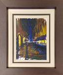 Michael Flohr Street Scenes Rain and Romance - Original (Framed)