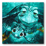 Finding Nemo Art Walt Disney Animation Artwork Serious Thrill Issues, Dude