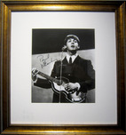 Fine Artwork On Sale! Sale Items Paul McCartney Signed Photograph (Framed)