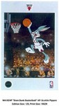 Bugs Bunny Art Warner Brothers Animation Artwork Slam Dunk Basketball AP - Scotty Pippen