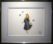 Sleeping Beauty Art Walt Disney Animation Artwork Sleeping Beauty Sericel (Framed)
