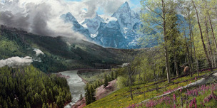 Phillip Philbeck Landscape Springtime in the Tetons (Grande Edition)