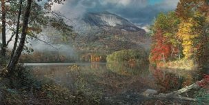 Phillip Philbeck Landscape Table Rock in Autumn (Grande Edition)