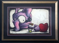 Fabio Napoleoni Artist Trying Out New Pick Up Lines (Framed)
