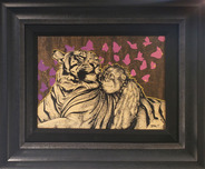 Daniel Ryan Wildlife Art Unconditional (Original, Framed)